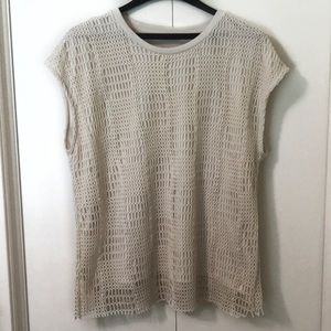 Zara crochet sleeveless top